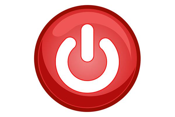 Off button compressor